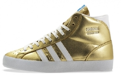 Gold Superstar 2 Metallic Sneakers by Adidas in Pitch Perfect 2