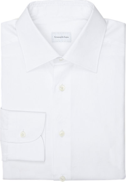 Twill Dress Shirt by Ermenegildo Zegna in Suits