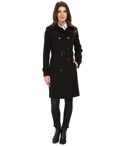 Double Breasted Trench Coat by Calvin Klein  in The Blacklist
