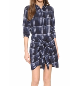 Ladore Tie Front Dress by Club Monaco in The Flash