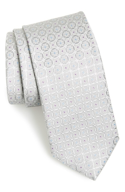 Bucannon Medallion Silk Tie by John W. Nordstrom in The Good Wife