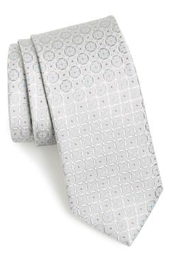Bucannon Medallion Silk Tie by John W. Nordstrom in The Good Wife