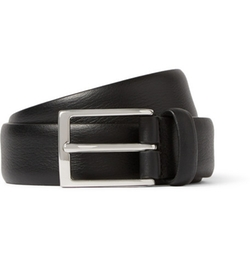 Leather Belt by Anderson's in Ballers