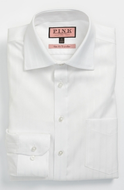 Slim Fit Non-Iron Dress Shirt by Thomas Pink in Gone Girl
