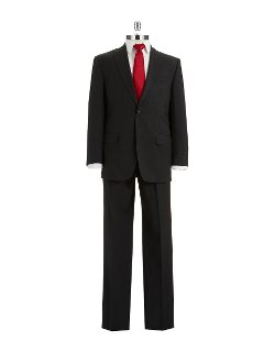 Two Piece Peaked Lapel Suit by Sean John in The Gunman