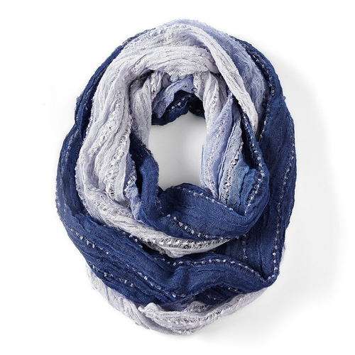 Horizontal Ombre Infinity Scarf by Simply Vera Vera Wang in The Hundred-Foot Journey