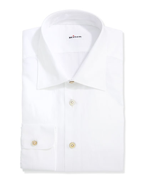 Basic Poplin Dress Shirt by Kiton in Suits - Season 5 Episode 8