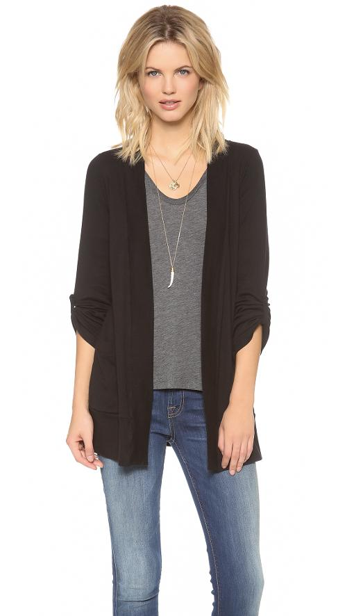 1x1 Pocket Cardigan by Splendid in What If