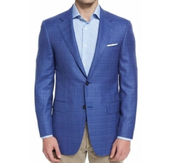 Sienna Contemporary-Fit Textured Sport Coat by Canali in Empire