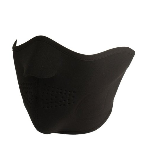 Men's Thermal Neoprene Warm Breathable Half Face Mask by SK Hat Shop in John Wick