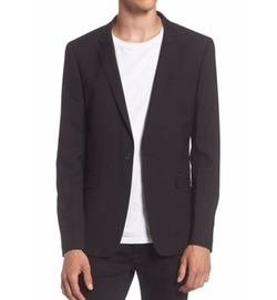 Ultra Skinny Black Suit Jacket by Topman in Preacher
