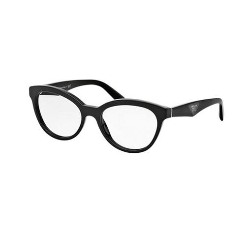 Cat-Eye Contrast-Arm Fashion Glasses by Prada in The Good Wife - Season 7 Episode 22
