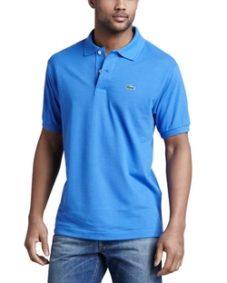 Classic Pique Polo Shirt by Lacoste	 in Modern Family