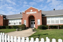 Fairhope, Alabama by Fairhope Kindergarten Center (Depicted as Saint Nicholas Academy) in Before I Wake