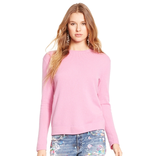 Cashmere Crewneck Sweater by Polo Ralph Lauren in Mean Girls