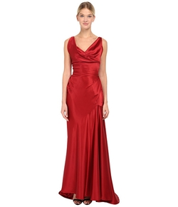 Stretch Satin Long Amber Dress by Vivienne Westwood in Furious 7
