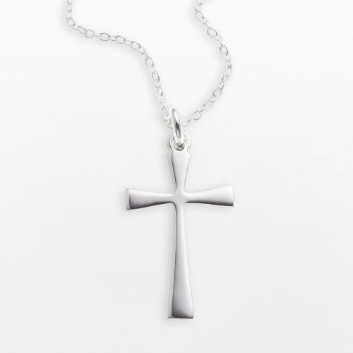 Cross Pendant by Sterling Silver in Laggies