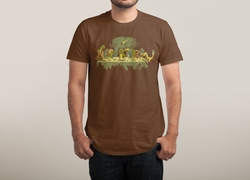The Last Supper Shirt by Threadless in Arrow