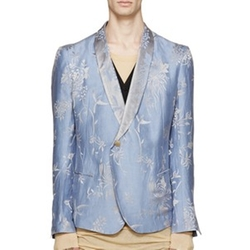 Jacquard Floral Blazer by Haider Ackermann in Empire