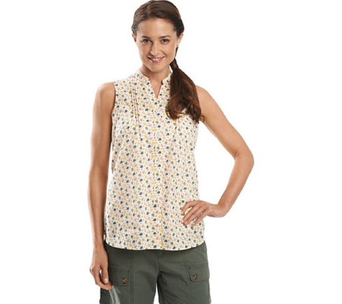 Somerset Sleeveless Shirt by Woolrich in Fuller House