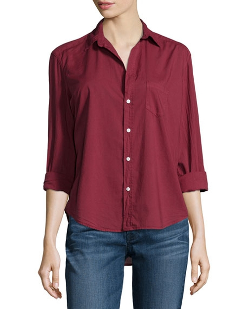 Button-Front Blouse by Frank & Eileen in Suits