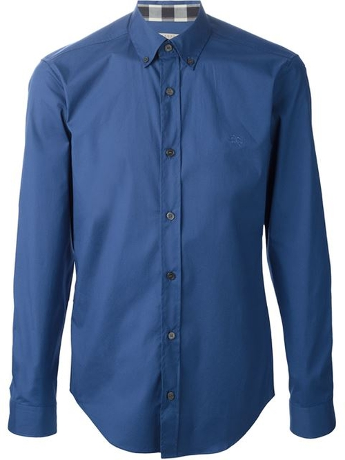 Button-Down Collar Shirt by Burberry Brit in Life