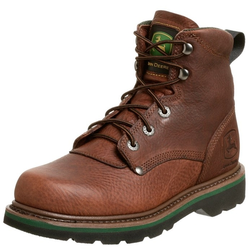 Lace-Up Boots by John Deere in Krampus