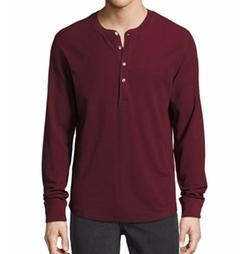 Thermal Henley T-Shirt by 7 For All Mankind in The Flash