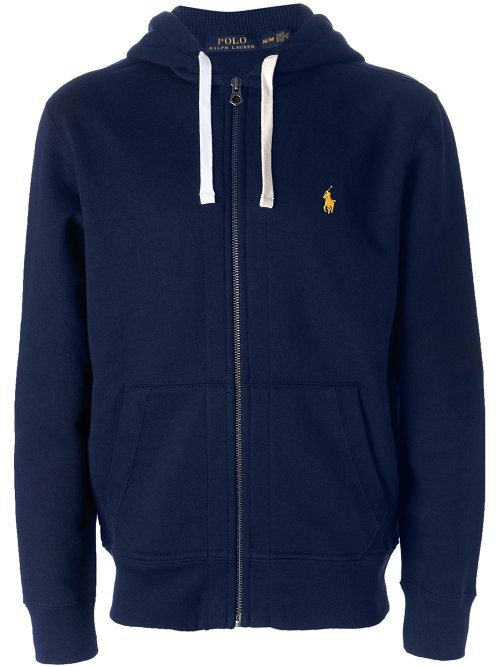 Zip Up Hoodie by Polo Ralph Lauren in Hall Pass