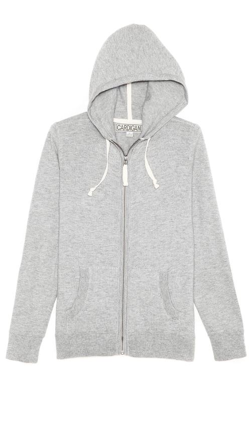 Alex Zip Up Hoodie by Cardigan in Let's Be Cops