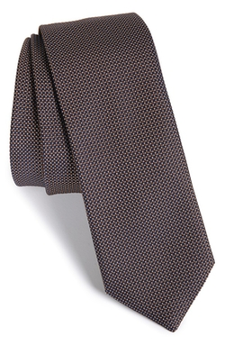 Geometric Silk Tie by Hugo in Supergirl