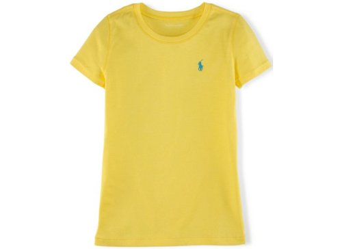 Girls' Solid Crew-Neck Tee by Ralph Lauren in If I Stay