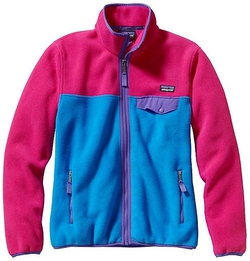 Women's Full Zip Snap-T Jacket by Patagonia in Unbreakable Kimmy Schmidt