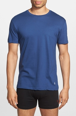 Classic Fit Crewneck Cotton T-Shirt by Polo Ralph Lauren in Modern Family