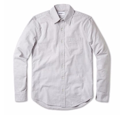 Brushed Chambray Shirt by Buck Mason in The Ranch