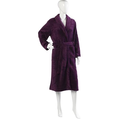 Soft Fleece Dressing Robe by Slenderella in Pretty Little Liars - Season 6 Episode 4