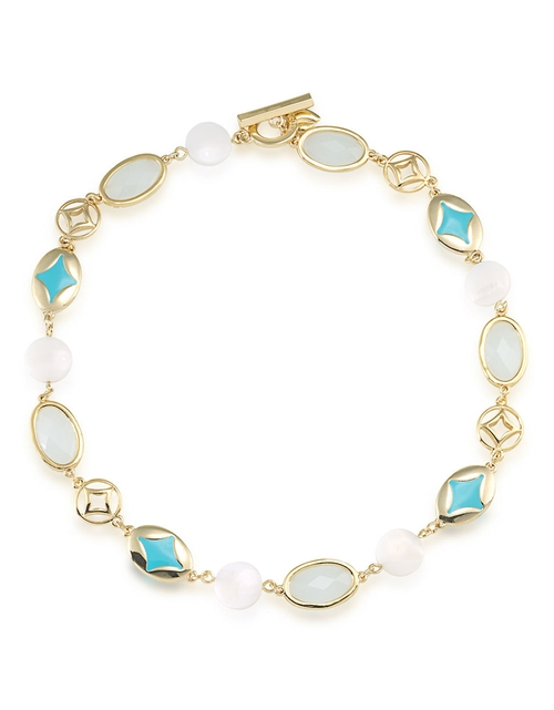 Mother Of Pearl Collar Necklace by Carolee in Clueless