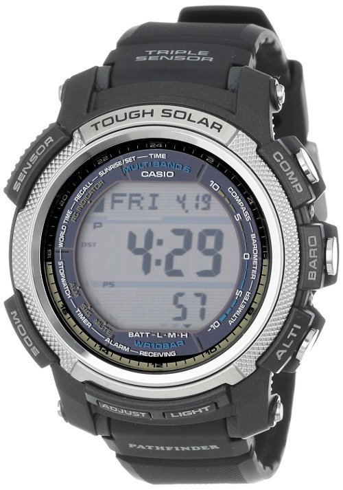 Men's Pathfinder Digital Watch by Casio in Hall Pass