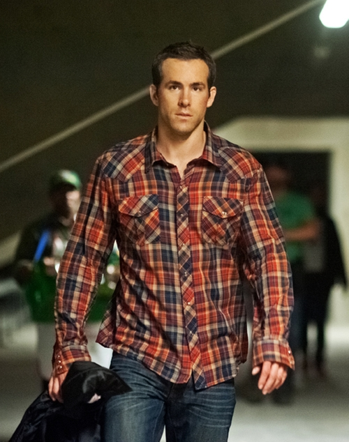 Button-Down Plaid Shirt by Salt Valley in Safe House