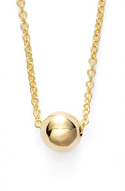 Ball Pendant Necklace by Bony Levy in Ballers