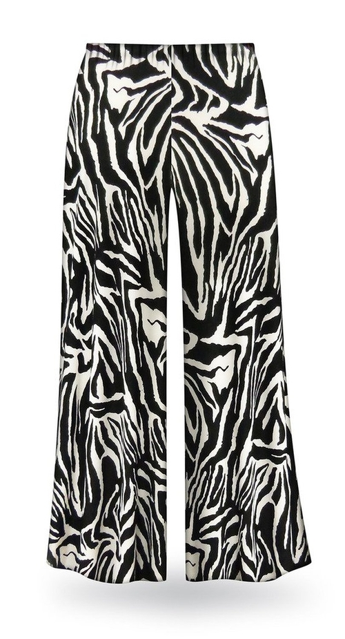 Zebra Slinky Palazzo Pants by Sanctuarie Designs in The Heat