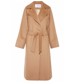 Belted Camel Hair Coat by Max Mara in Designated Survivor