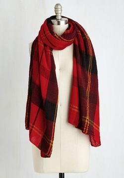 Academic Aspirations Scarf by ModCloth in Scream Queens