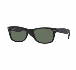 Polarized Wayfarer Sunglasses by Ray-Ban in Gold