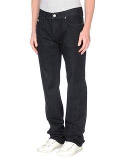 Denim Pants by Armani Collezioni in Rosewood