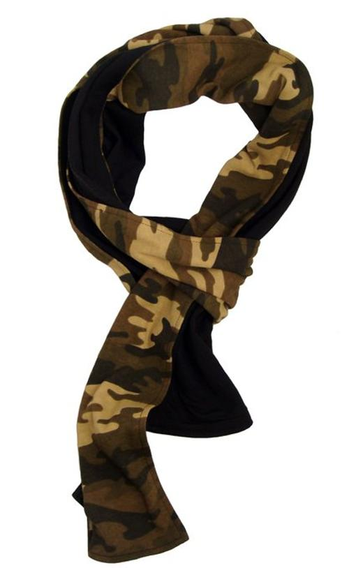 Camo Micromodal and Cotton Scarf by Marcelo Pequeno in The Expendables 3