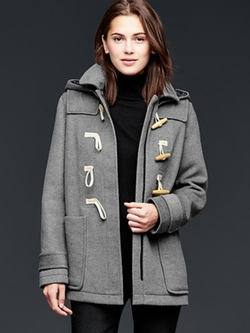 Wool Toggle Coat by Gap in Modern Family