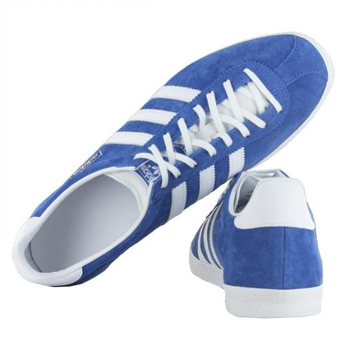 Gazelle OG Blue White Mens Trainers by Adidas in Step Up: All In