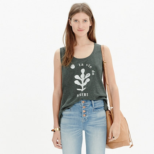 La Vie Du Désert Tank by Madewell in Scream Queens - Season 1 Episode 2