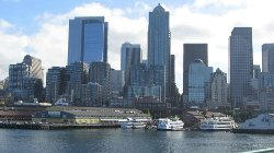 Seattle, WA by Colman Dock in Fifty Shades of Grey